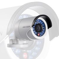 Luces sonido Cámara Hikvision IP Mini Bala IR 4MP